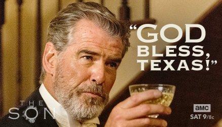 """Pierce Brosnan as """"Eli McCullough"""" photo: AMC"""