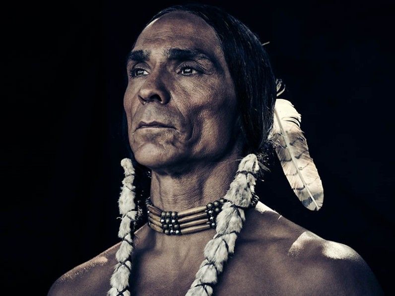 "Zahn McClarnon as ""Chief Toshaway"" photo: AMC"